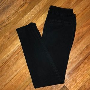 Old Navy Black Pixie Never-Fade Pants